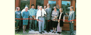 2001 Ribbon Cutting - September 15, 2001 at The New Facility