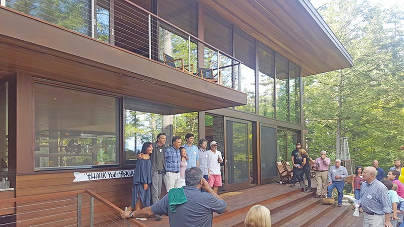 Squam Lake Dream Home Cookout Celebration 1